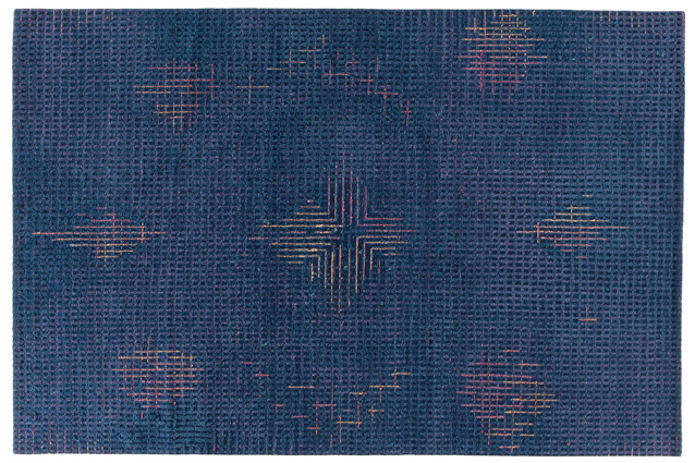 tumulte-dark-blue-rug